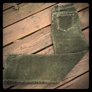 St. John's Bay Stretch bootcut corduroy Jeans 8